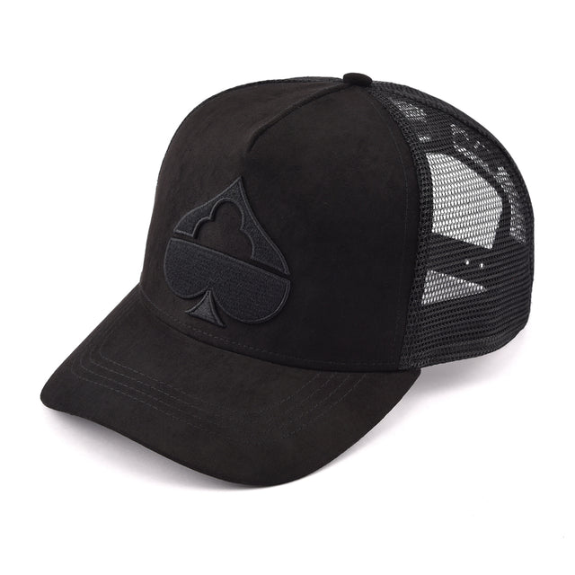 Safe House Black Suede Trucker Black Friday
