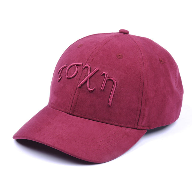 Suede Baseball - Burgundy-Baseball-TSCH-Apparel-Luxury-Headwear