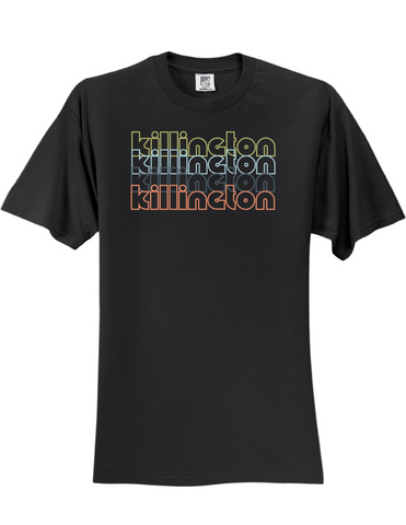 Killington Vermont Retro 3930 Slogan Humorous Mens Funny Tee Shirt