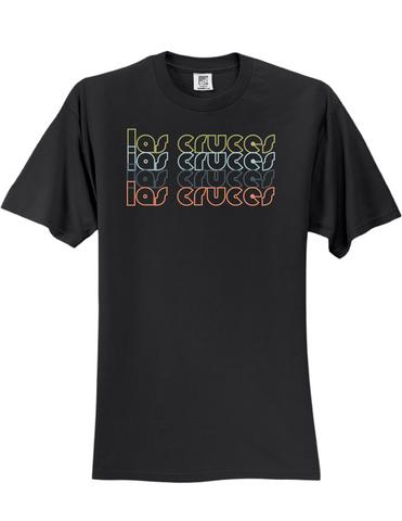 Las Cruces New Mexico Retro 3930 Slogan Humorous Mens Funny Tee Shirt