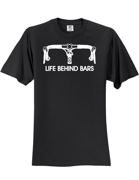 Life Behind Bars 3930 Slogan Humorous Men's Funny Tee Shirt