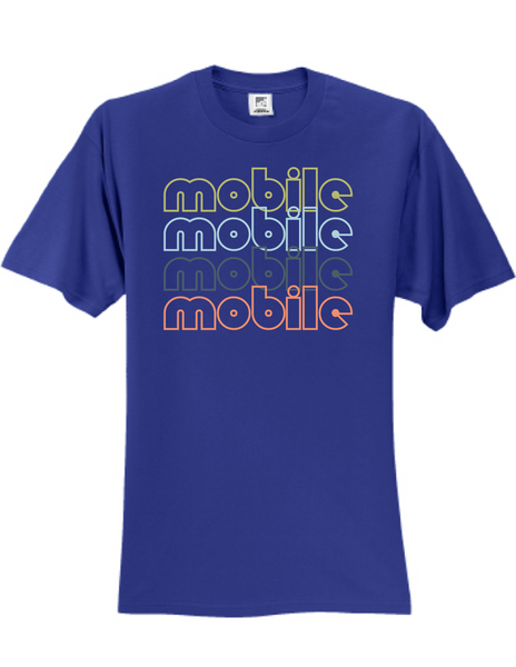 Mobile Alabama Retro