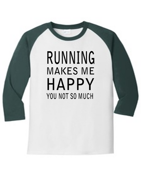 Running Makes Me Happy