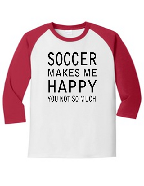 Soccer Makes Me Happy