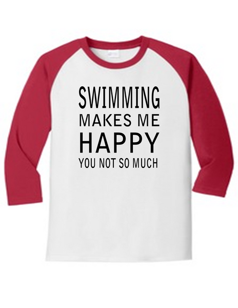 Swimming Makes Me Happy
