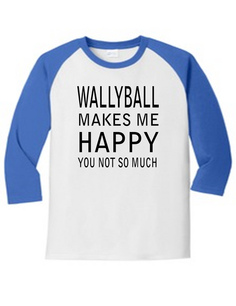 Wallyball Makes Me Happy