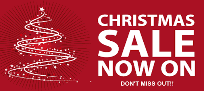 The 2-Day Christmas Sale is on!