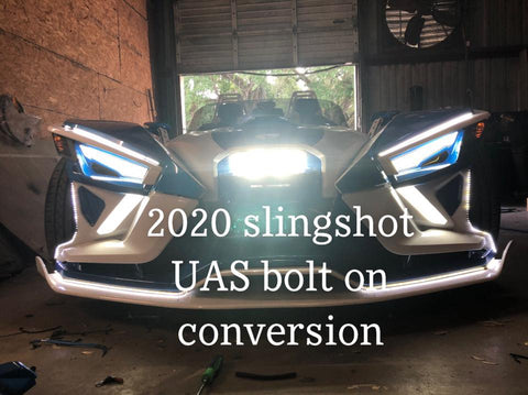2020 Polaris Slingshot Front End Conversion