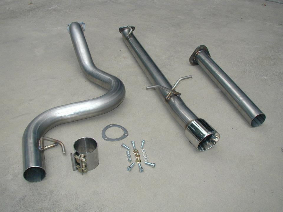 Race Exhaust, Cobalt SS/Turbocharged