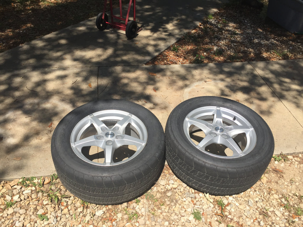 Solstice or Sky Borbet Wheels with M/T tires - Used