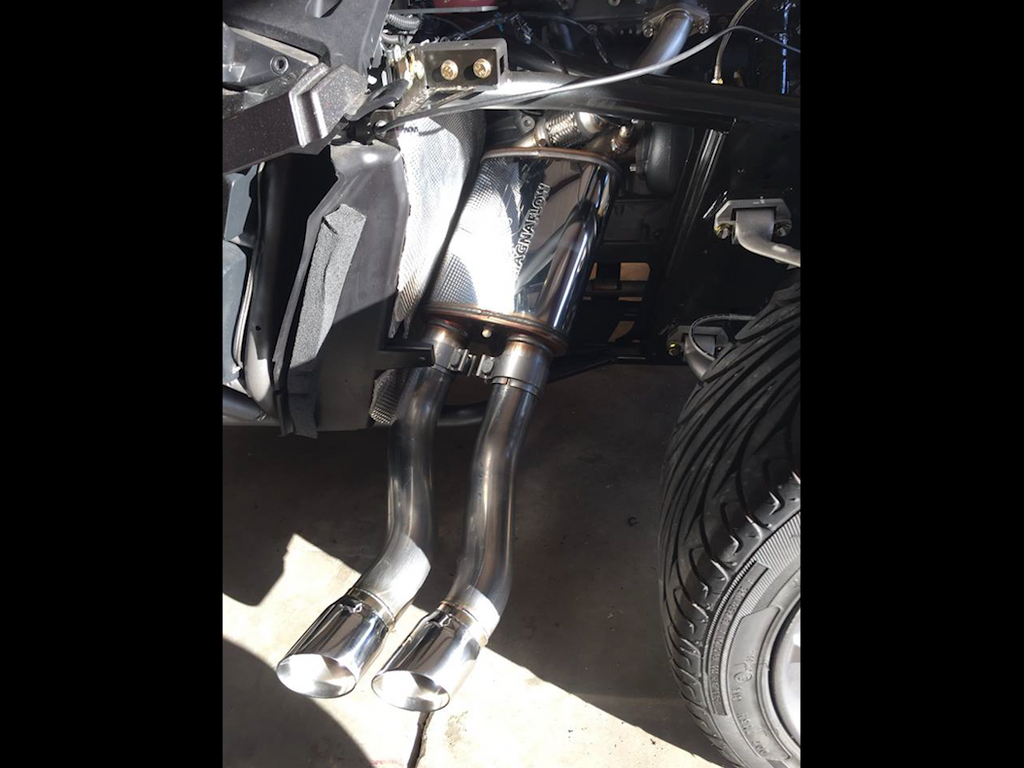 NEW! SidePipes Dual Exhaust System, Slingshot SST