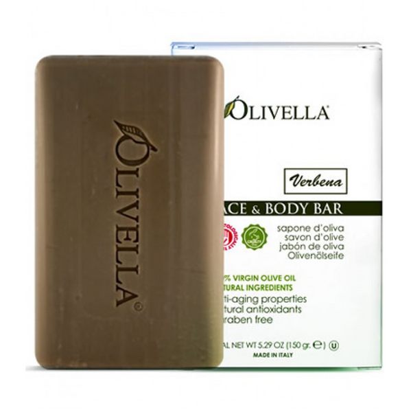 Face & Body Bar - Verbena - By Olivella - 5.29oz