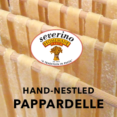 Hand-Nestled Pappardelle