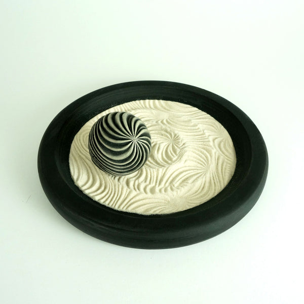 "Mini Zen Garden | 9"" Monochrome Package  