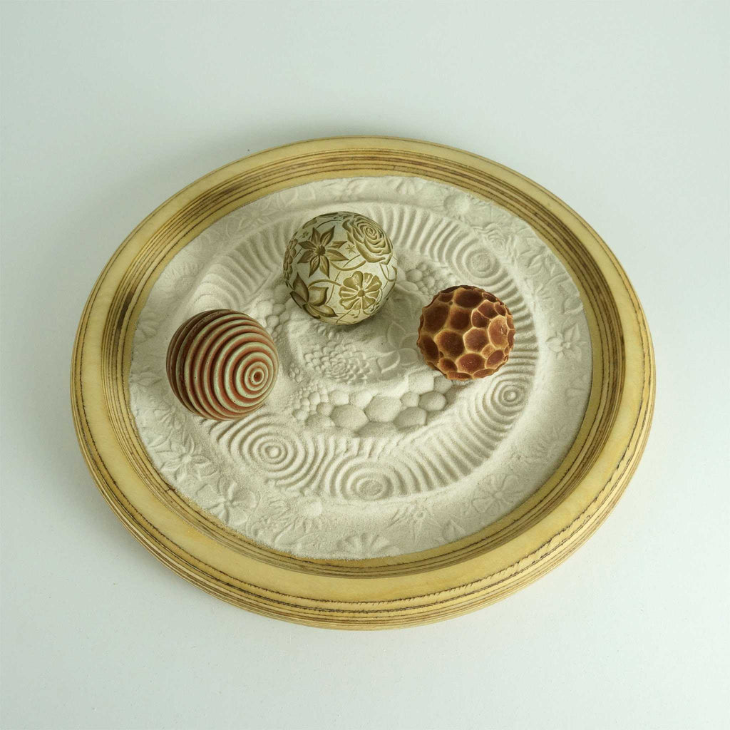 Play with our sand spheres in a modern Zen Box- the Portland Package is our three top sellers. A great gift idea!