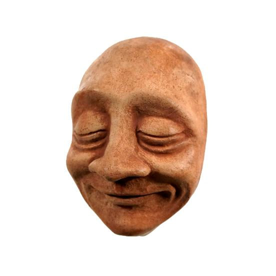 Blissful Art | Therapeutic Gifts | Happy Office | Bliss Face in Terra Cotta