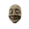 Wall-Hanging Decor | Cement Sculpture | Bliss Face in Slate