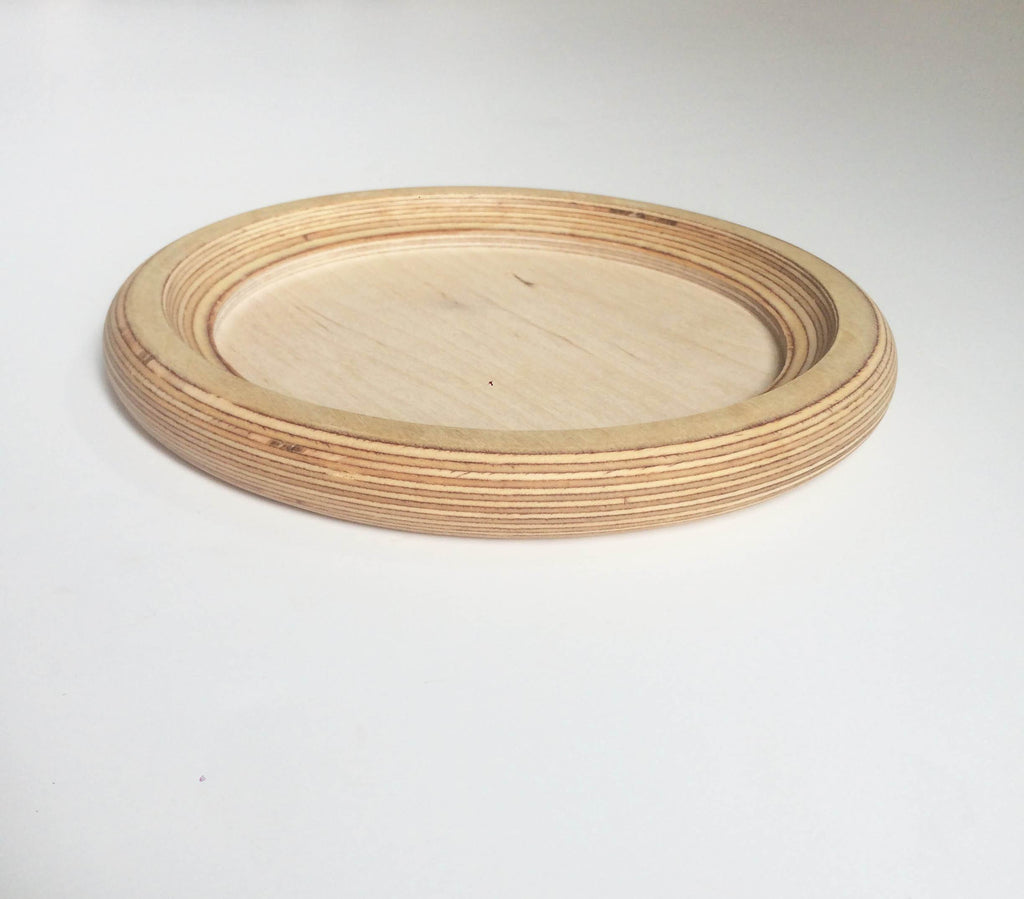 Sand Play Tray | Circular | Natural Wood