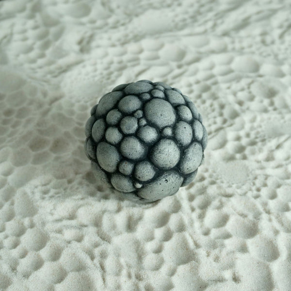 Sand Patterning Sphere | Moon Ball | Cellular Design