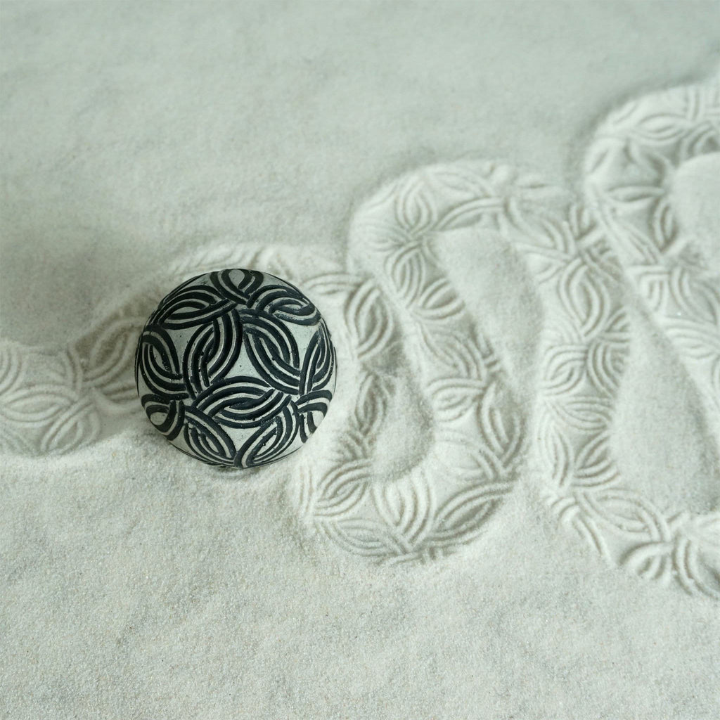Textured Sphere | Sensory Sand Play | Rings Design