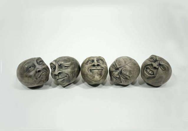Set of 5 Cement Heads