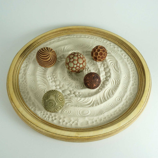 Tabletop Modern Zen Sand Garden | Conference Table Centerpiece