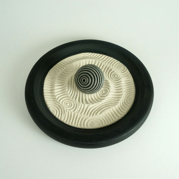 Mini Zen Garden | Monochrome | Medium Sphere