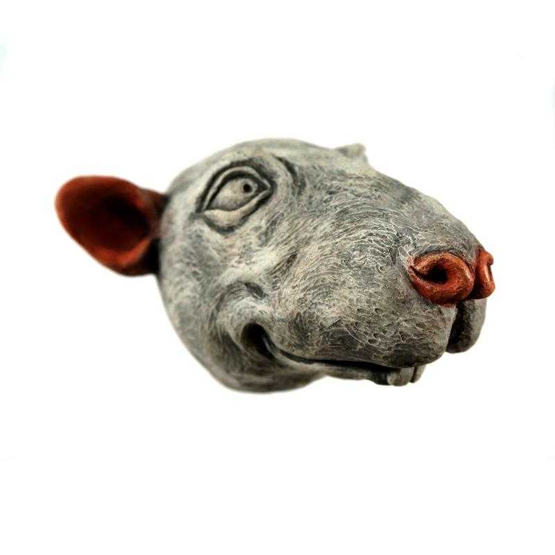 Year of the Rat | Cement Animal Sculpture