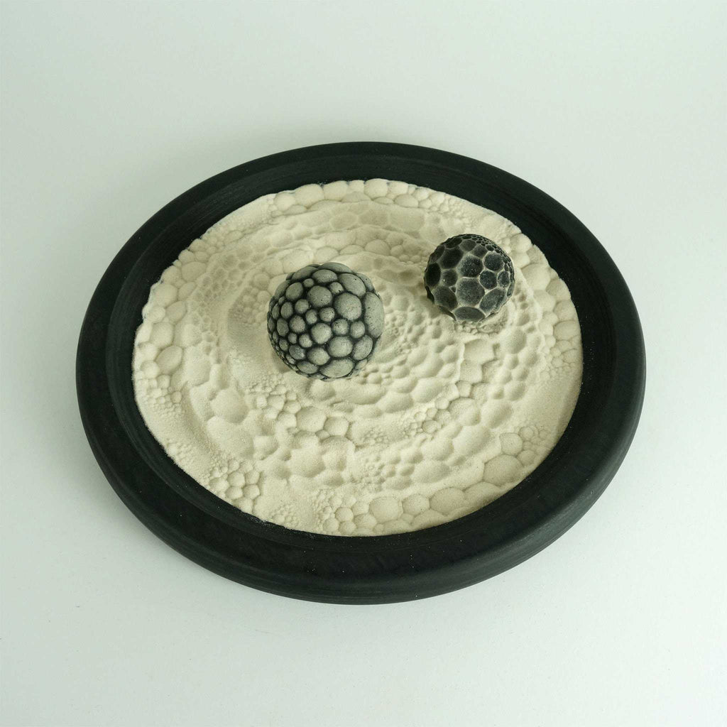 Desktop Zen Garden | Yin/Yang Package | Meditative Activity