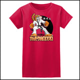 TIGER FISTS! -Taekwondo T-Shirt -AWESOME GRAPHIC! -JST-405 - Rhino Junction Apparel - 3