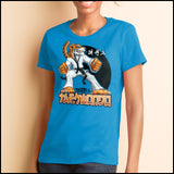 TIGER FISTS! -Taekwondo T-Shirt -AWESOME GRAPHIC! - MST-405 - Rhino Junction Apparel - 4
