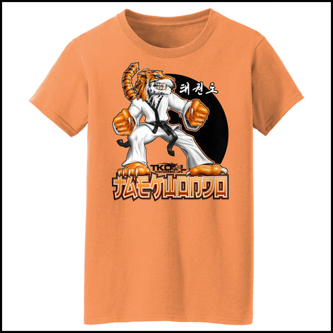 TIGER FISTS! -Taekwondo T-Shirt -AWESOME GRAPHIC! - MST-405 - Rhino Junction Apparel - 2