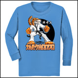 TIGER FISTS! -Taekwondo T-Shirt -AWESOME GRAPHIC! -YLST-405 - Rhino Junction Apparel - 3