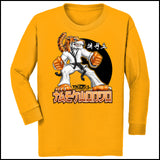 TIGER FISTS! -Taekwondo T-Shirt -AWESOME GRAPHIC! -YLST-405 - Rhino Junction Apparel - 2