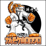 TIGER FISTS! -Taekwondo T-Shirt -AWESOME GRAPHIC! -YLST-405 - Rhino Junction Apparel - 1