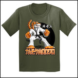 TIGER FISTS! -Taekwondo T-Shirt -AWESOME GRAPHIC! -YSST-405 - Rhino Junction Apparel - 4