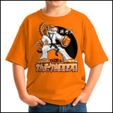 TIGER FISTS! -Taekwondo T-Shirt -AWESOME GRAPHIC! -YSST-405 - Rhino Junction Apparel - 2