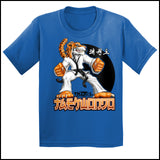 TIGER FISTS! -Taekwondo T-Shirt -AWESOME GRAPHIC! -YSST-405 - Rhino Junction Apparel - 3