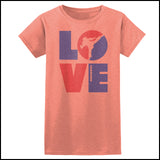 TKD LOVE - Taekwondo T-Shirt - TAEKWONDO LOVE! - JST-411 - Rhino Junction Apparel - 4