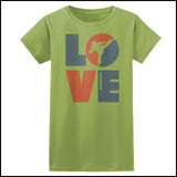 TKD LOVE - Taekwondo T-Shirt - TAEKWONDO LOVE! - JST-411 - Rhino Junction Apparel - 2