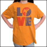 TKD LOVE - Taekwondo T-Shirt - TAEKWONDO LOVE! - YGSS-411 - Rhino Junction Apparel - 4