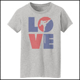 TKD LOVE - Taekwondo T-Shirt - TAEKWONDO LOVE! - MST-411 - Rhino Junction Apparel - 3