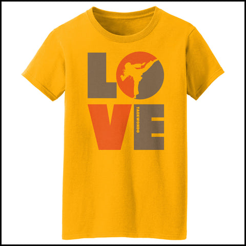 TKD LOVE - Taekwondo T-Shirt - TAEKWONDO LOVE! - MST-411 - Rhino Junction Apparel - 4