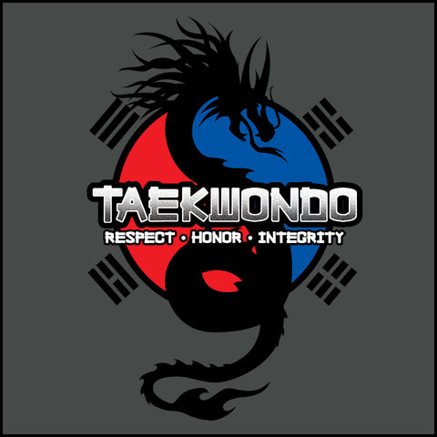 Spirit Dragon - Taekwondo T-Shirt - Balance  - FREE SHIPPING AST-424 - Rhino Junction Apparel - 1