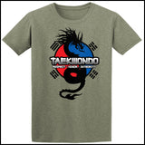 Spirit Dragon - Taekwondo T-Shirt - Balance  - FREE SHIPPING AST-424 - Rhino Junction Apparel - 3