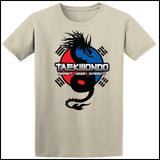 Spirit Dragon - Taekwondo T-Shirt - Balance  - FREE SHIPPING AST-424 - Rhino Junction Apparel - 2