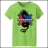 Spirit Dragon - Taekwondo T-Shirt - On Soft T-Shirt!  - MST-424 - Rhino Junction Apparel - 2