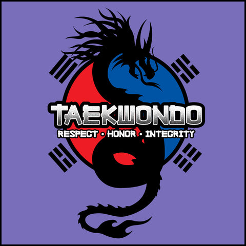 Spirit Dragon - Taekwondo T-Shirt - On Soft T-Shirt!  - MST-424 - Rhino Junction Apparel - 1