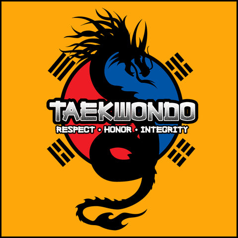 Spirit Dragon - Taekwondo T-Shirt - Balance  -FREE SHIPPING YLST-424 - Rhino Junction Apparel - 1