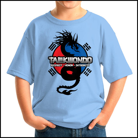 Spirit Dragon - Taekwondo T-Shirt - Balance • FREE SHIPPING! YSST424 - Rhino Junction Apparel - 2